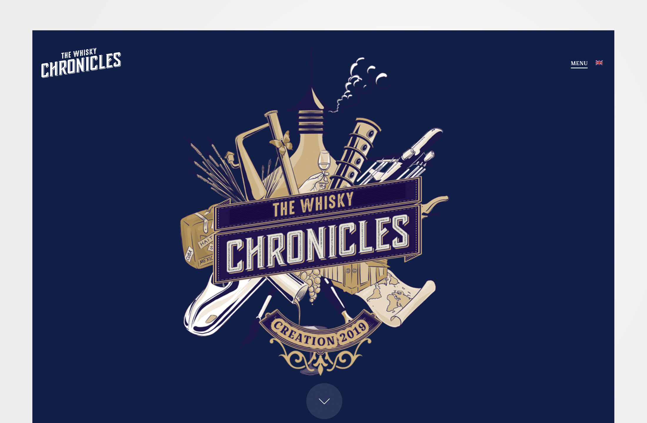 Whisky Chronicles site internet